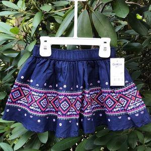 OshKosh B'gosh Toddler Girl Boho Skirt *2T